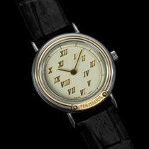 Hermès Meteore Ladies Watch - Stainless Steel & Solid 18K...