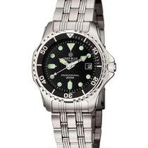 Deep Blue Sea Princess  Ladies Watch 200m Wr Mvt. 34mm S/s...