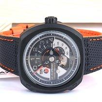 Sevenfriday SF-V3 / 02  PVD Black / Orange Automatic Original