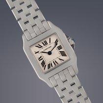 Cartier Ladies Santos Demoiselle stainless steel quartz watch