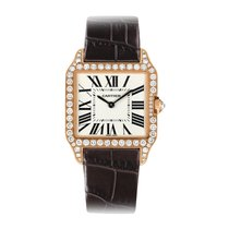 Cartier Santos Dumont Quartz Ladies Watch Ref WH100351
