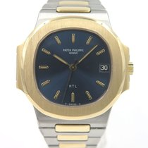 "Patek Philippe Nautilus 3800/1 Gold and steel blue "" H T L..."