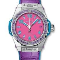 Hublot : 39mm Big Bang One Click Pop Art Steel Purple Watch
