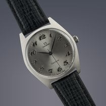 Omega Genéve stainless steel manual watch ORIGINAL BOX AND...