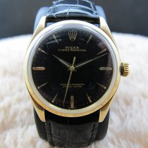 勞力士 (Rolex) OYSTER PERPETUAL 1005 14K Yellow Gold Gilt Dial