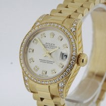 Rolex Datejust 179158 solid 18K Yellow Gold Watch SERVICED...