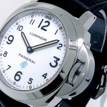 Panerai Unworn  Pam 630 Acciaio Steel 44 Mm Luminor Base White...