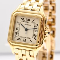 Cartier Panthère 18kt Gold mit Box Quarz