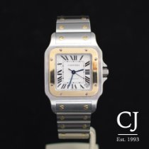 Cartier Santos Galbee Steel And Gold Auto XL