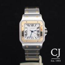 Cartier Santos Galbee Steel And Gold Auto XL