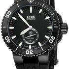 Oris Aquis Titan Small Second, Date 46mm Mens Watch