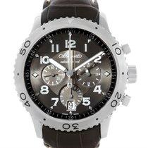 Breguet Transatlantique Type Xxi Flyback Ruthenium Dial Watch...
