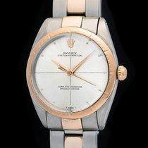 Rolex Vintage 1008 Zephyr pink gold with original riveted...