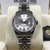 Rolex 178274 31mm Datejust Lady Silver Diamond Dial [NEW]