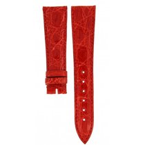 Piaget Red Crocodile Leather Strap 20mm/16mm