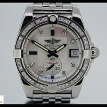 Breitling Galactic 36 st. aut., MOP dial with 8 diam. and 40...