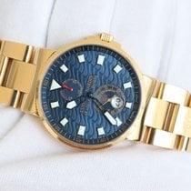 Ulysse Nardin 41mm Maxi Marine Chronometer Blue Wave LE