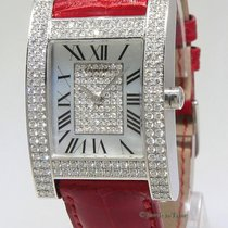 Chopard Your Hour 18k White Gold Diamond MOP Mechanical Ladies...