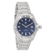 TAG Heuer Aquaracer Mens Stainless Steel Quartz Watch WAY1112....