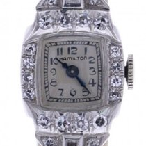 Hamilton Vintage Gold & Diamond Watch