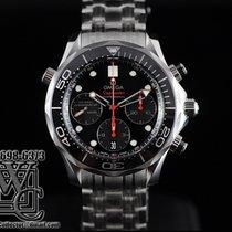 Omega Seamaster Diver Chronograph Black Dial 42mm
