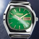Citizen Vintage Day Date Automatic, Green Dial