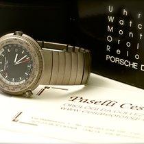 IWC Porsche Design Travel Watch World Time Alarm Ref. 3822-001