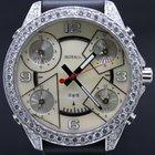 Jacob & Co. Five time zone full diamonds mint
