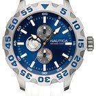 Nautica BFD Maritime A15567G 10 ATM Diver 50 mm Multifunktion