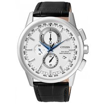 Citizen Elegant Eco Drive Funk Herrenchronograph AT8110-11A
