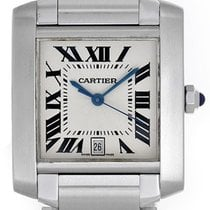 Cartier Tank Francaise Automatic Men's Stainless Steel...