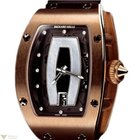 Richard Mille Automatic Red Gold Satin Ladies Watch