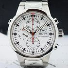 IWC GST Split Second Chronograph SS White Dial
