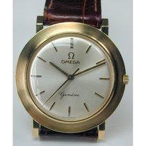 Omega Geneve, 750/- Goldarmbanduhr, Kaliber 600