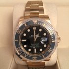 Rolex Submariner Date Yellow Gold Black Dial