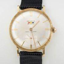 Benrus 14K Yellow Gold Vintage Benrus Wristwatch