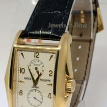 Patek Philippe Gondolo 18k Gold Watch 10 Day Power Reserve...