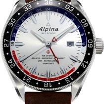 Alpina Geneve Alpiner GMT 4 AL-550SRN5AQ6 Herren Automatikuhr...