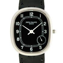 Patek Philippe New  Ellipse Platinum Black Automatic 5028g-001