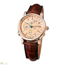 Ulysse Nardin GMT Perpetual Calendar LE 18k Rose Gold Men`s Watch