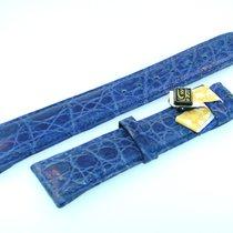 Piaget Band 20mm Croco Blau Blue Azul Strap Correa Für...