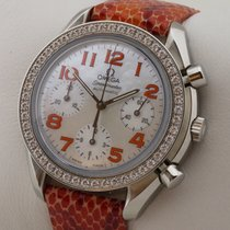 Omega SPEEDMASTER AUTOMATIC DAMENUHR DIAMANT MOP MOTHER OF PEARL