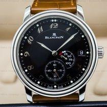 Blancpain 1106-1130-55 Power Reserve Ultra Slim SS Black Dial...