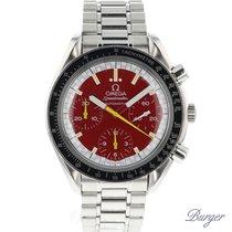 Omega Speedmaster Racing Red Automatic Michael Schumacher