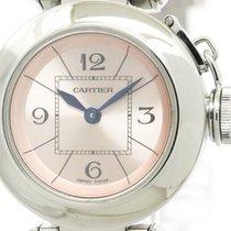 Cartier Polished Cartier Miss Pasha Steel Quartz Ladies Watch...