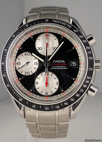 Omega Speedmaster Automatic Date Chronometer Chronograph 40mm
