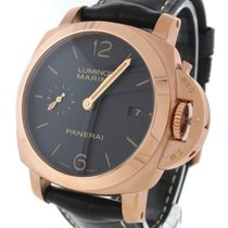 Panerai Luminor Marina 1950 3 Days Automatic PAM00393 18K Rose...