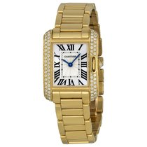 Cartier- Tank Anglaise Kleines Modell, Ref. WT100005