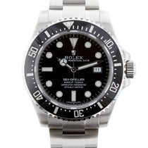 Rolex Sea Dweller Mens Black Dial Oyster Steel Mens Automatic...