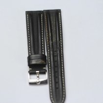 Omega Leather Watchstrap with Omega Buckle Length: 19 cm...